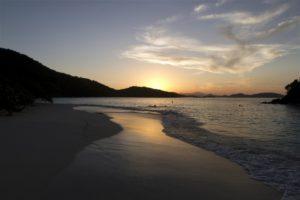 Sunset Trunk bay