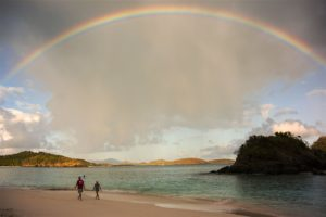 Trunk bay rainbow