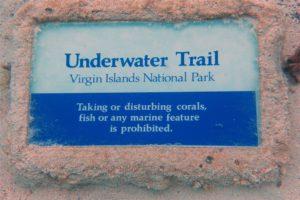 Underwater Trail Trunk Bay