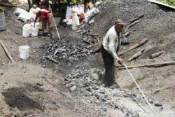 charcoal pit