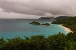 Trunk Bay clouds
