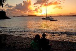 Frank Bay sunset