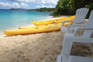 kayak beach chair St John