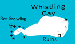 whistling cay